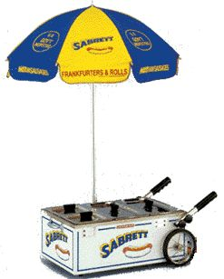 Sabrett Tabletop Hot Dog Cart